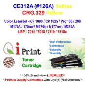 HP CE312A 126A CP1025 M175 Toner Compatible (YELLOW)