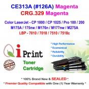 Qi Print HP CE313A 126A CP1025 M175 M176 CRG.329 Toner Compatible (Magenta)