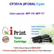 Qi Print HP CF351A 130A MFP176 MFP177 Toner Compatible Cart (Cyan)