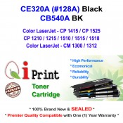 HP CE320A 128A CP1525 CM1312 Toner Compatible (BLACK)