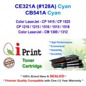 Qi Print HP CE321A 128A CB541A CP1525 CM1312 Toner Compatible (Cyan)
