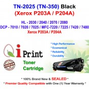 Qi Print Brother TN2025 TN350 HL2030 HL2080 Toner Compatible (Black)