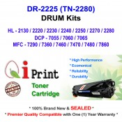 Qi Print Brother DR2225 HL2130 2280 MFC7460 7860 DRUM Compatible (DRUM)