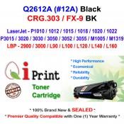Qi Print HP Q2612A 12A P1020 P3050 Use Canon CRG303 Toner Compatible (Black)