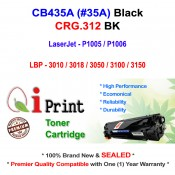 Qi Print HP CB435A 35A P1005 P1006 Use Canon CRG312 Toner Compatible (Black)