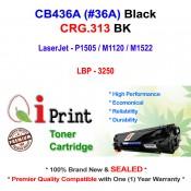 Qi Print HP CB436A 36A P1505 M1522 Use Canon CRG313 Toner Compatible (Black)