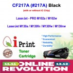 HP CF217A 17A M102 M130 Toner Compatible * IC Chip (Black)