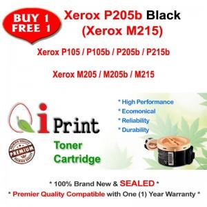 Qi Print Fuji Xerox P105 P205 P205b P215 M205 M215 Toner Compatible (2 Units Offer)
