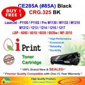 Qi Print HP CE285A 85A For HP P1102 M1132 Canon CRG 325 Toner Compatible (2 Units)