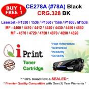 HP CE278A 78A P1560 M1536 CRG 328 Toner Compatible (2 Units)