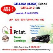 HP CB435A 35A P1005 P1006 CRG 312 Toner Compatible (2 Units)