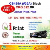 Qi Print HP CB435A 35A For HP P1005 P1006 Canon CRG 312 Toner Compatible (2 Units)