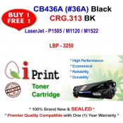 HP CB436A 36A P1505 M1522 CRG 313 Toner Compatible (2 Units)