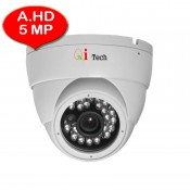 CCTV AHD 1/2.9 Infra Red Dome Camera 5MP HD 1080P (White)