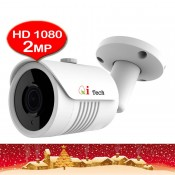 CCTV HD 2MP 1/3 Infra Red Bullet Out Door Camera Full HD 1080P (White)