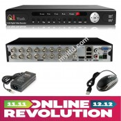 CCTV 16-Channels HD DVR Network Recorder with Mobile Apps Support (HDMI+VGA)