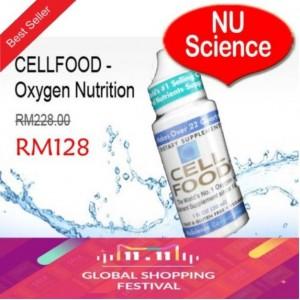 CELLFOOD - Oxygen Nutrition - Original NU Science @ RM128 / Btl - 11.11 Offer