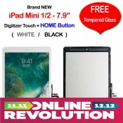 Apple iPad Mini 1 & 2 Touch Screen Digitizer with FREE Temper Glass