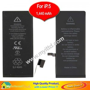 Apple iPhone 5 Battery Replacement 1,440mAh Original Zero Recycle (Tools Set)