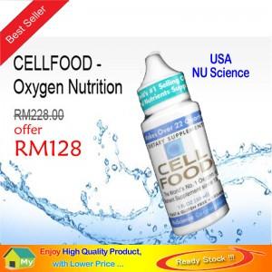 CELLFOOD - Oxygen Nutrition - Original NU Science @ RM248 / 2-Btl - Special Offer