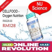 CELLFOOD - Oxygen Nutrition - Original NU Science @ RM498 / 4-Btl - Special Offer