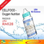 CELLFOOD - Oxygen Nutrition - Original NU Science @ RM488 / 4-Btl - Special Offer