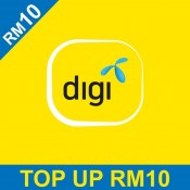 DiGi Prepaid RM10 Reload/Topup Instantly (1000 Pts Redemption)