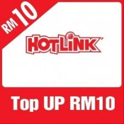 HotLink Prepaid RM10 Reload/Topup Instantly (1000 Pts Redemption)