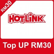 HotLink Prepaid RM30 Reload/Topup Instantly (3000 Pts Redemption)