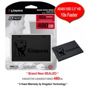 "Kingston SSD 480GB SATA-III 2.5"" 7mm Solid State Drive (SA400S37/480G)"