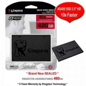 "Kingston SSD 480GB SATA-III 2.5"" 7mm Solid State Drive (SA400S37/480G)"