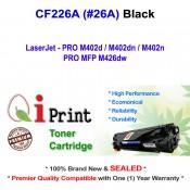 Qi Print HP CF226A 26A M402d M402n M426dw Toner Compatible (Black)