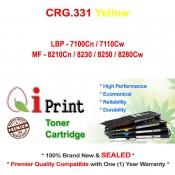Qi Print CANON CRG 331 LBP7100 7110 MF8210 8280 Toner Compatible (Yellow)