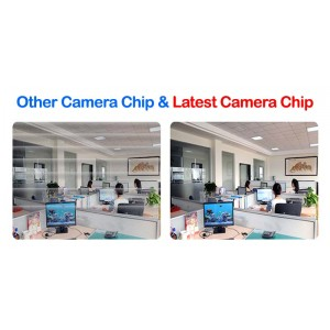 Qi Tech CCTV 4-CH HD DVR with 5MP 2560P Infra Red Camera Package (White)