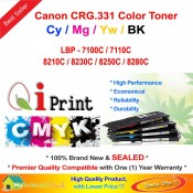 Qi Print Canon Cartridge CART 331 LBP 7110C 8210C 8250C Color Laser (CMYK)
