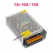 Switching Power Supply DC 12V 10A / 15A For CCTV, Door Access, Alarm System